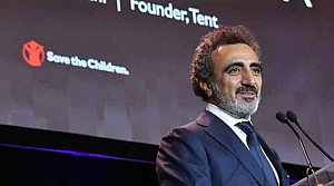 Save the Children Hamdi Ulukaya'ya Yardımseverlik Ödülü verdi